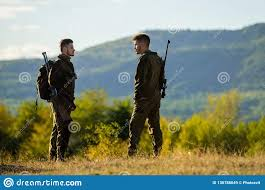 100 Gamekeepers Gamekeeper Occupation Concept Sunny Fall Day Hunting