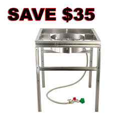 Save $35 On A Stainless Steel Home Brewing Burner And Stand ...