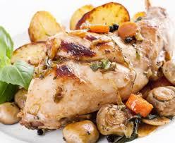 cuisiner un lapin au vin blanc lapin au vin blanc et aux chignons recette de lapin au vin