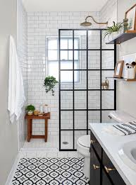 this small bath makeover blends budget friendly diys and