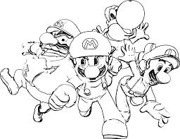 Coloriage Mario Peach Imprimer Sur COLORIAGES Info A De Et