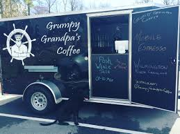 Grumpy Grandpa's Coffee - Wilmington Food Trucks - Roaming Hunger Rival Bros Coffee Food Truck And Italian Milkshake Truck For Sale In Florida Ipad Pos Point Of Trucks Datio Woodfire Pizza Van From Dog Eat Inc Space Design Pinterest The Images Collection Of College Campuses Business Insider Starbucks Citroen Hy Online H Vans Wanted Highly Catering Mobile For Buy My Lifted Ideas 90 Carts Vintage China Vending Cart Jyb25 Photos Retro Vanfood Wagon Street Gmc Used Beverage Rhode Island