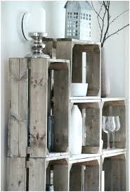 Wooden Crate Decorating Ideas More Rustic Shelves Decorative Storage Projects For A Beautifully Organized