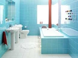 small blue bathroom navy blue and white paint color for small