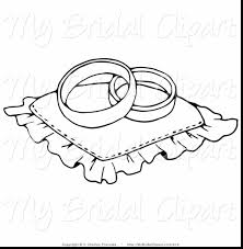 Superb Wedding Ring Coloring Pages With Free And Colouring