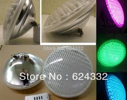 lighting led swimming pool light par56 bulb 558leds 40w 12v