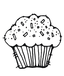 A Very Pretty Cupcake Coloring Pages Cookie Coloring Pages