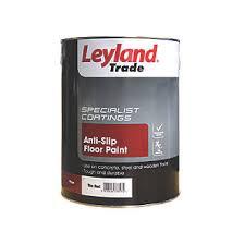 leyland trade anti slip floor paint tile 5ltr floor paints
