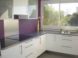 cuisine blanche pas cher cuisine violette et blanc pas cher sur cuisine lareduc com