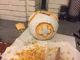 Star Wars Pumpkin Carving Ideas 2015 by 10 Steps To Make Your Own Bb 8 Pumpkin For Halloween U2013 Gabbing Geek