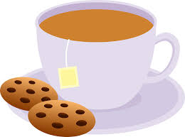 Tea And Cookies Clip Cup Clipart Plate
