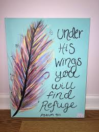 Under His Wings You Will Find Refuge