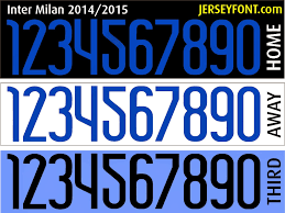 Inter Milan Font 2014 2015 file Fontai Pinterest