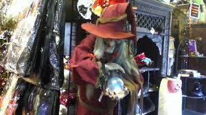 Halloween Express Mn Locations by Halloween Express Helga The Fortune Teller Youtube