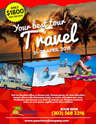 Copy Of Holiday Travel Flyer Template