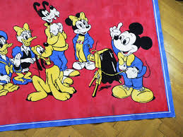 Mickey Mouse Rug 1960s for sale at Pamono