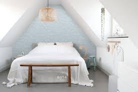 schlafzimmer tapete doldenblütler hellblau und weiß 139102