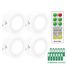 remote dimmable led puck lights led cabinet ls cupboard lights with timer function cool white lighting 4 ls and 1 remote