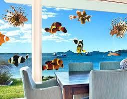 fensterfolie fenstersticker no 392 tropical fishes set