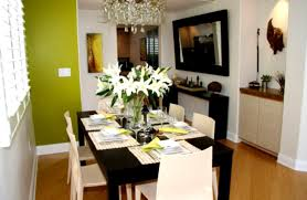 Stylish Dining Room Furniture Mirrored Modern Table Decoration Ideas