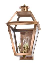 ch 22 wall light copper lantern gas and electric lighting