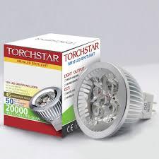 dimmable 12v 4w mr16 led bulb 6000k daylight white led spotlight