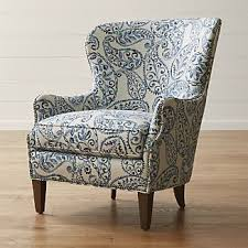 brielle wingback chair upholstered chairs and ottomans