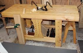 carter u0027s roubo style workbench the wood whisperer
