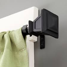 Curtain Rod Bracket Extender Walmart by Curtain Rod Brackets