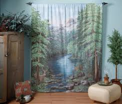 Amazon Curtains Living Room by Deer Curtains Shop Everything Log Homes