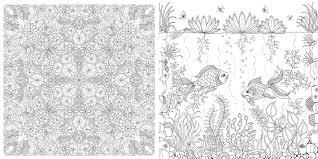 Secret Garden An Inky Treasure Hunt And Colouring Book By Johanna Basford Image