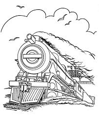 Printable Vehicle Coloring Pages Of Railroad And Trains Steam Engine Page Sheets History