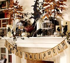 Pier 1 Halloween Mantel Scarf by 20 Elegant Halloween Home Decor Ideas How To Decorate For Halloween