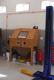 Diy Sandblast Cabinet Vacuum by Blasting Cabinet By Toms73novass Homemade Blasting Cabinet