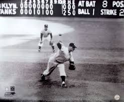 Don Larsen THE PERFECT PITCH New York Yankees 1956 World Series Poster Print