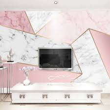 benutzerdefinierte tapete für wände 3d rosa geometrische