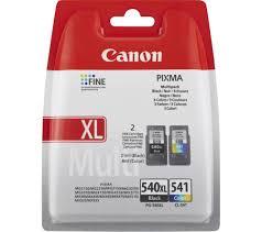 CANON PG 540 XL CL 541 Black Tri Colour Ink Cartridges
