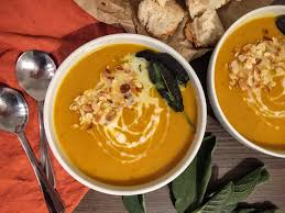 Pumpkin Butternut Squash Soup Curry by Butternut Squash Turmeric And Coconut Soup Vegan