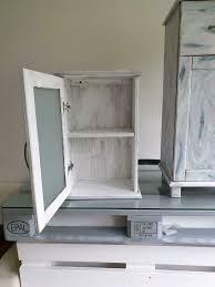 badezimmer schrank shabby chic landhausstil vintage in