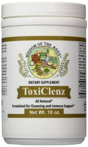 Wisdom of The Ages Toxiclenz Cleansing Supplement - 10oz