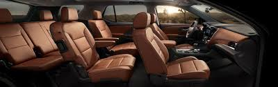 2018 Chevy Traverse Interior