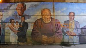 Philly Mural Arts Events by Damaged Philly Mural Featuring Cosby Destined For Decommissioning