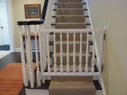 Baby Gates For Stairs With Railings Cape Town : Baby Gates For ... Diy Bottom Of Stairs Baby Gate W One Side Banister Get A Piece For Metal Spiral Staircase 11 Best Staircase Ideas Superior Sliding Baby Gate Stairs Closed Home Design Beauty Gates Should Know For Amazoncom Ezfit 36 Walk Thru Adapter Kit Safety Gates Are Designed To Keep The Child Safe Click Tweet Metal With Banister With Banisters Retractable Classy And House The Stair Barrier Tobannister Basic Of Small How Install Tension On Youtube