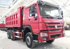 100 Pink Dump Truck Howo 6x4 16 CBMProductsSINOTRUK