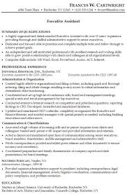 Executive Assistant Professional Resume