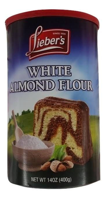 Lieber's White Almond Flour - 14 oz canister