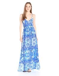 amazon com parker women u0027s kisa printed maxi dress clothing