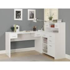 desk l shaped office desk white desk with drawers office