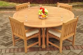 Teak Dining Set: 4 Seater 5 Pc: 72