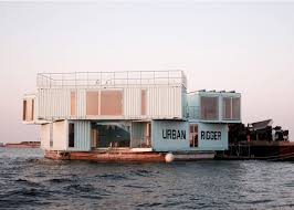100 Cargo Container Cabins BIG Stacks Shipping Containers To Create Floating Student